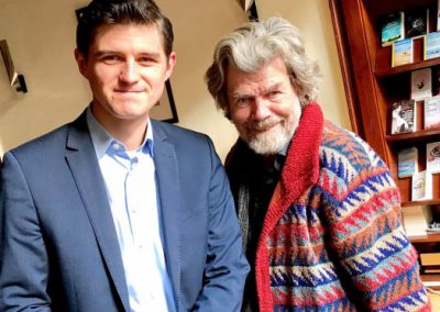 Reinhold Messner & Julien Backhaus